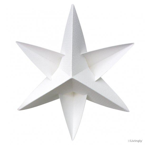 BOXofSTARS, enkelt 14 cm, hvid, 4 stk