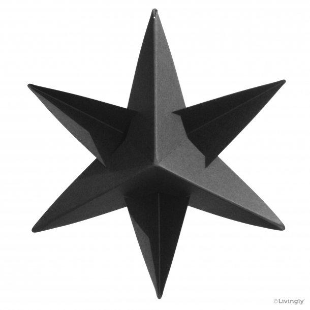 BOXofSTARS, enkelt 14 cm, sort