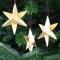 Sirius Stjerne Mini, guld, 3 stk.