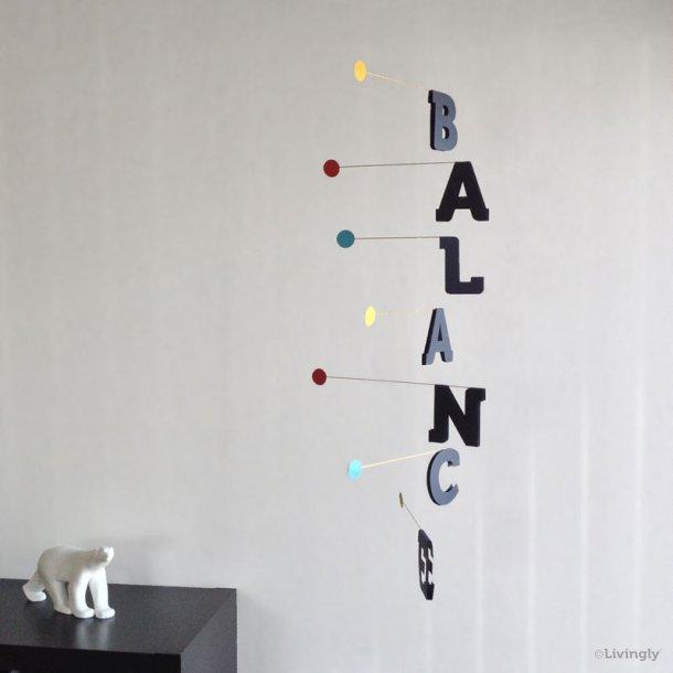 """""""BALANCE"""" Mobile, mørkeblå, 93 cm."""