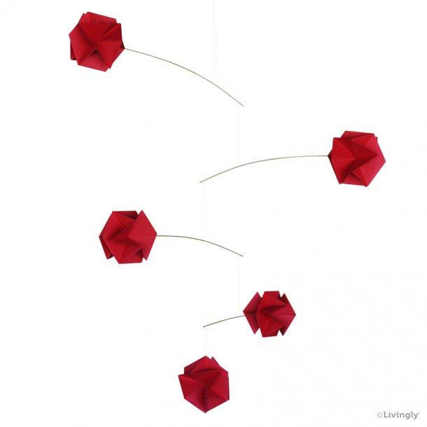 Molekyle mobile /5, rød