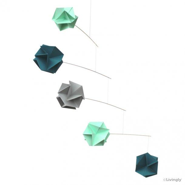 Molekyle Mobile /5, blå/grøn