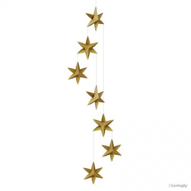 Stjernemobile, 120 cm, lysegrøn