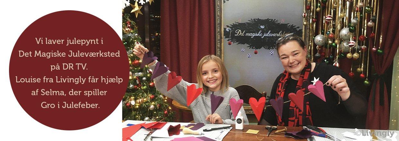 Christmas workshop on TV
