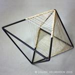 Louise Helmersens siddeskulptur stol i Made in Denmark