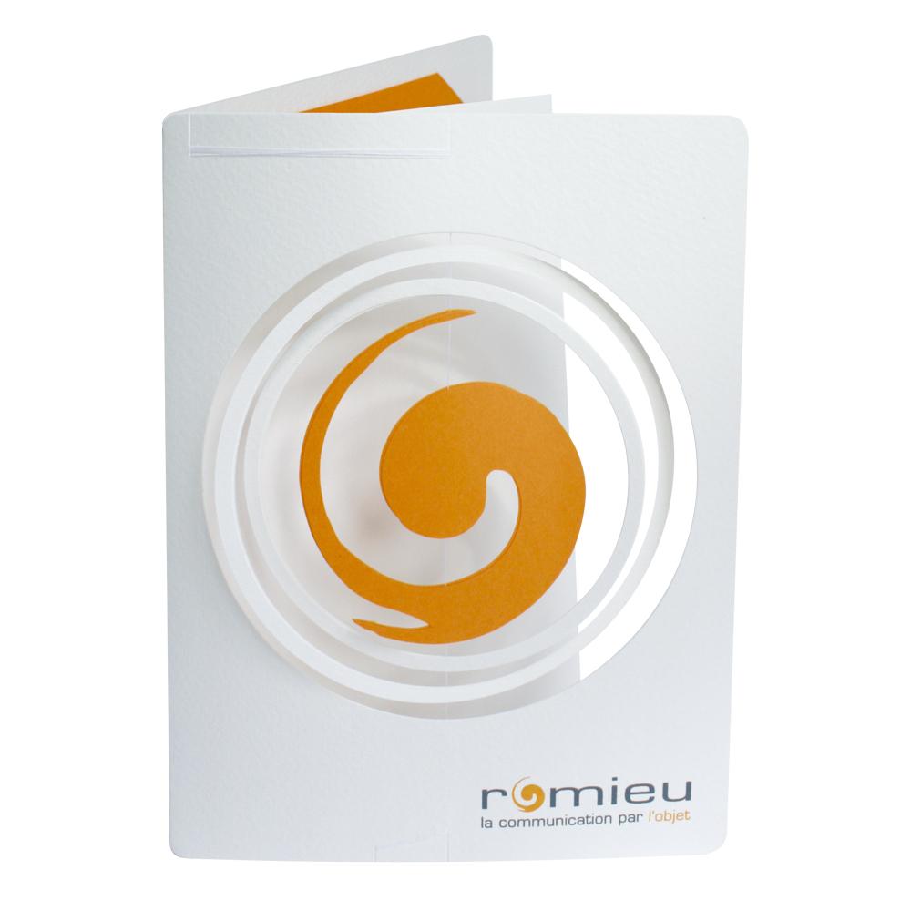 Romieu kort med logo-mobile